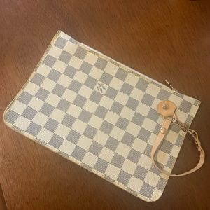 Louis Vuitton Wristlet Clutch Pouch Pochette Bag